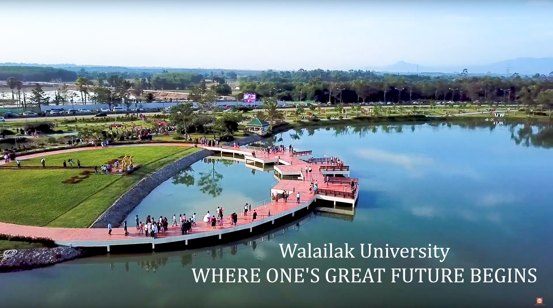 Walailak University  WHERE ONE'S GREAT FUTURE BEGINS